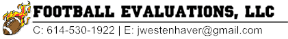 Football Evaluations - Quality Evaluations and Coaching